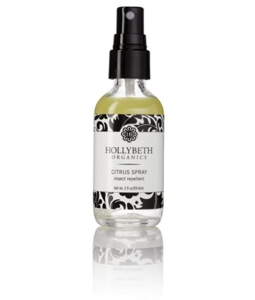 Clumsy Traveler Giveaway; HollyBeth Organics Citrus Spray insect repellent