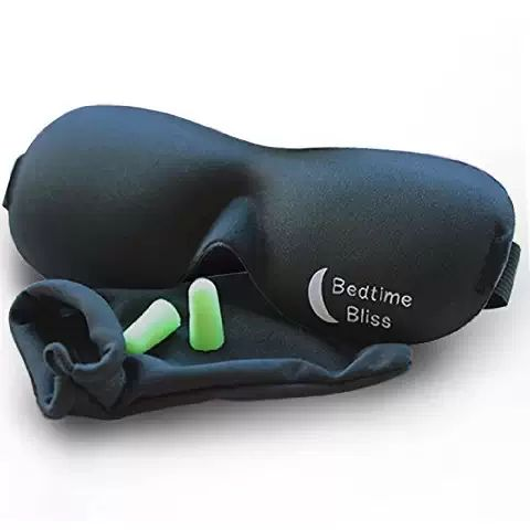 Best Travel Gift Ideas; contoured eye mask