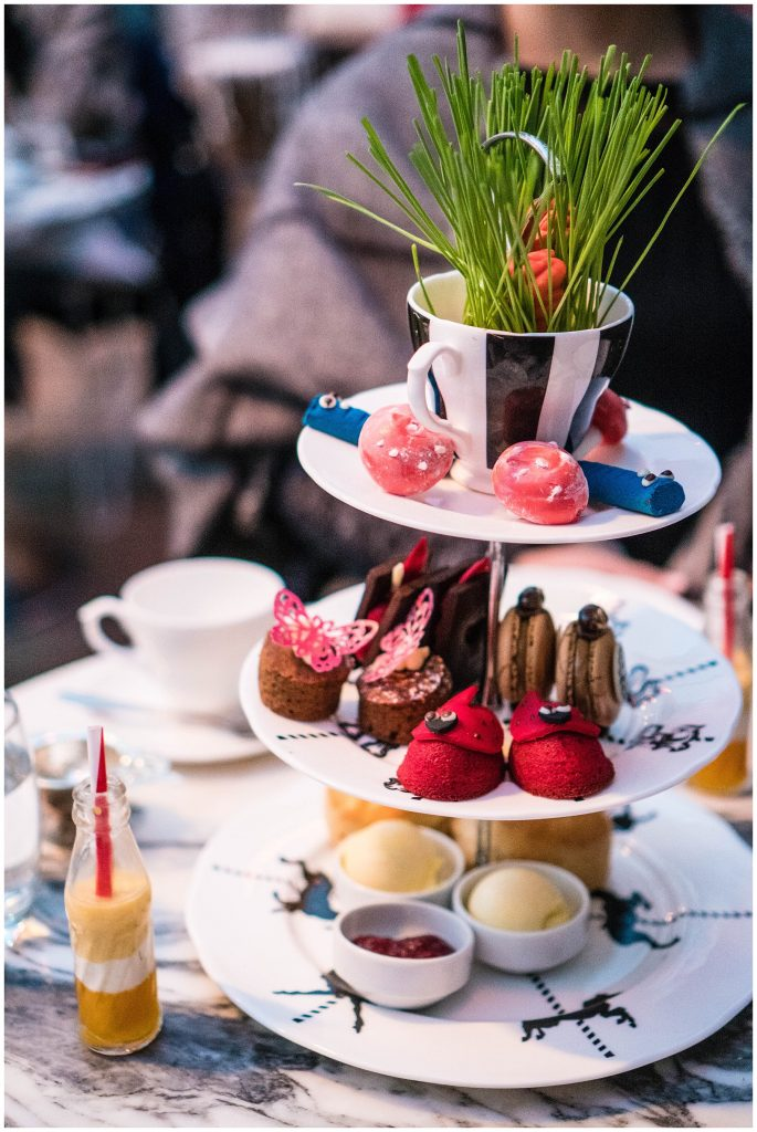 48 Hours in London; Mad Hatter's High Tea at the Sanderson