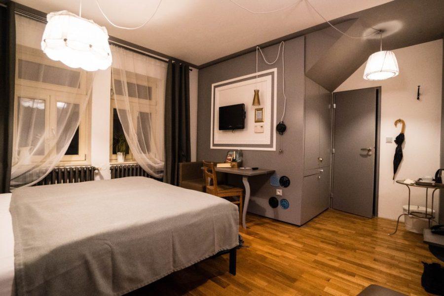 Miss Sophie's Hotel Prague hotel room interior