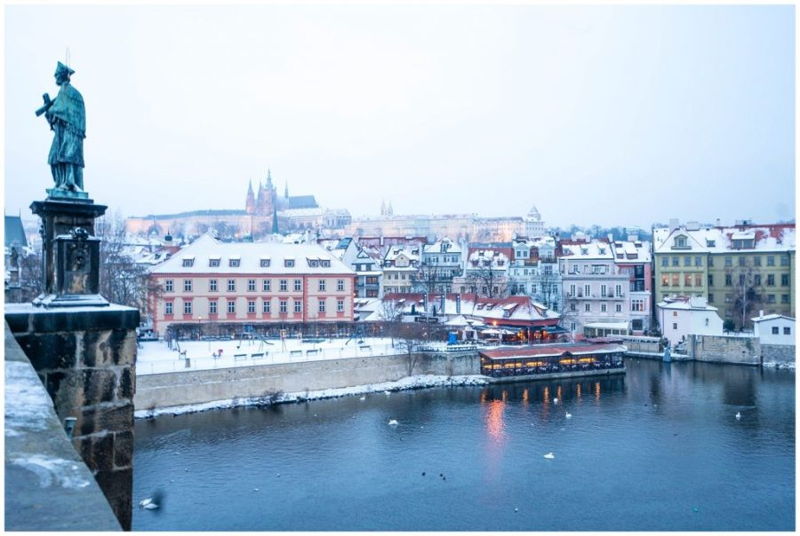 Photos That Will Make You Want to Visit Prague; view from bridge