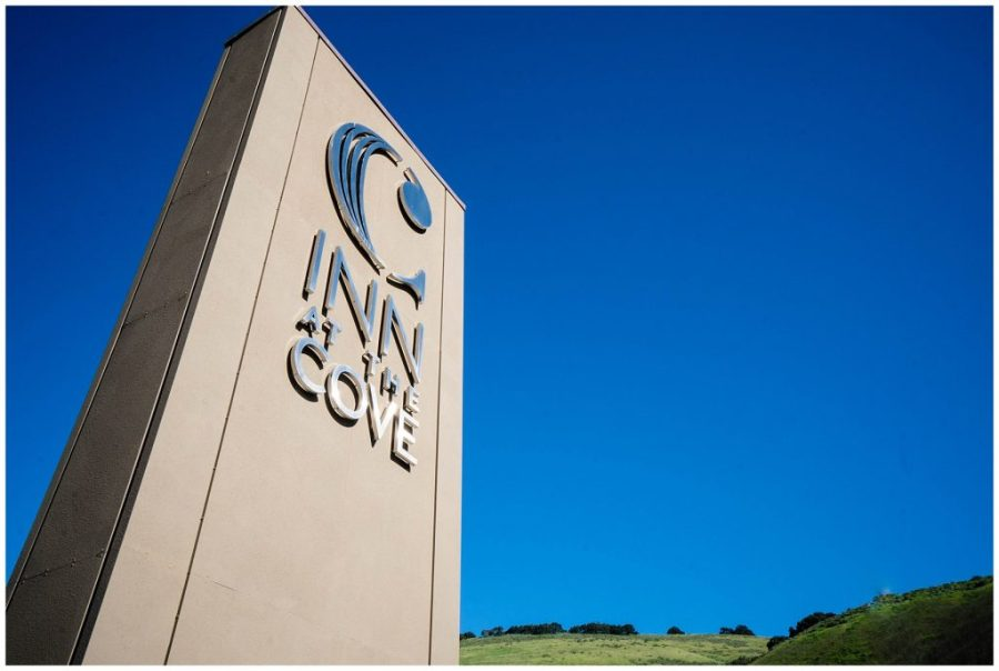 Staying at The Inn at The Cove; exterior