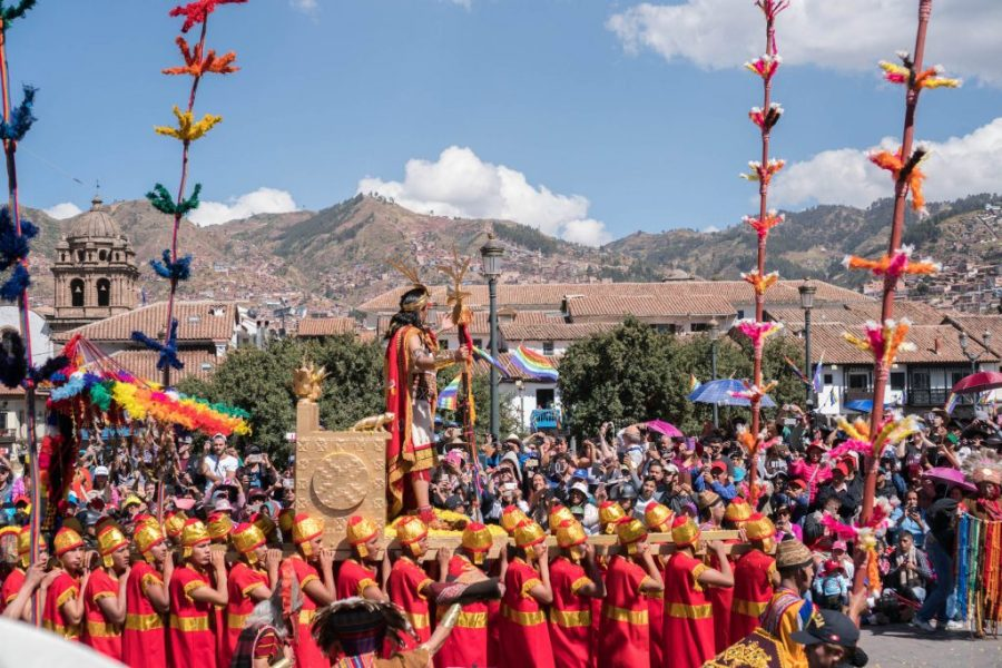 photos of Peru; Inti Raymi Festival Cusco