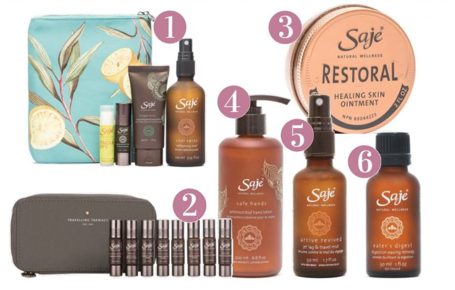 best holiday gift list; Saje products