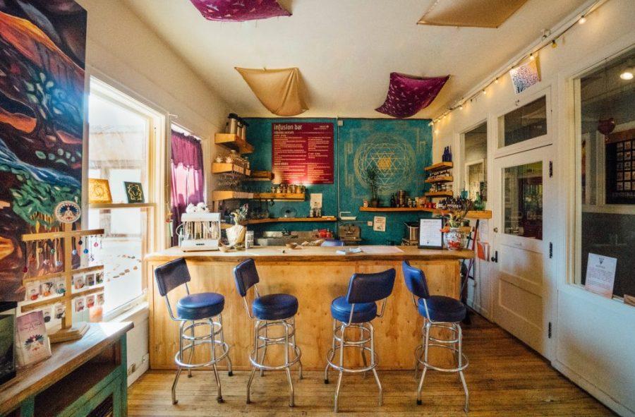 24 hours in Santa fe; Santa Fe Oxygen and Healing Bar interior