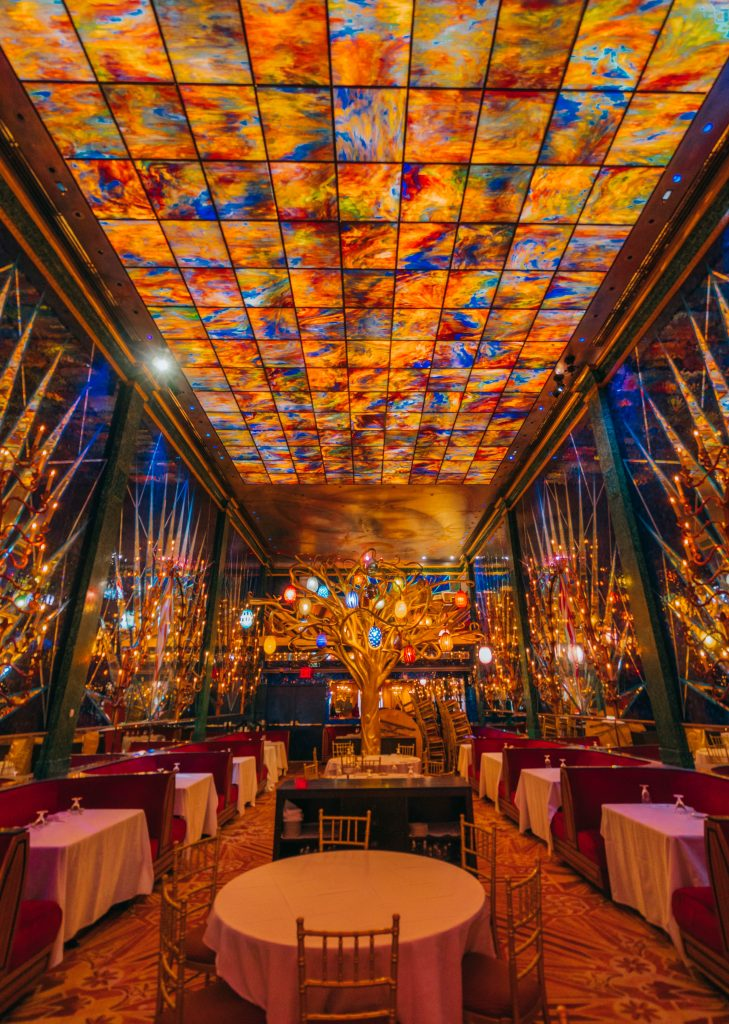 48 hours in New York; interior russian tea room