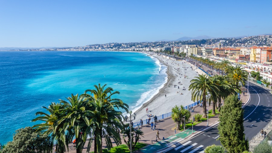 The Perfect 7-14 Day Provence and Côte d'Azur Itinerary; view of Nice, France