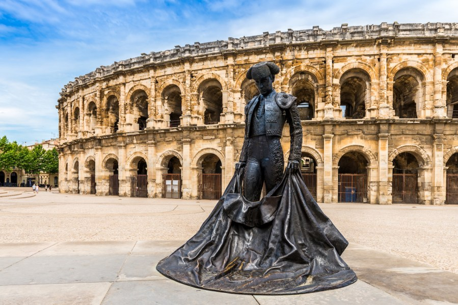 The Perfect 7-14 Day Provence and Côte d'Azur Itinerary; Nimes Ampitheatre