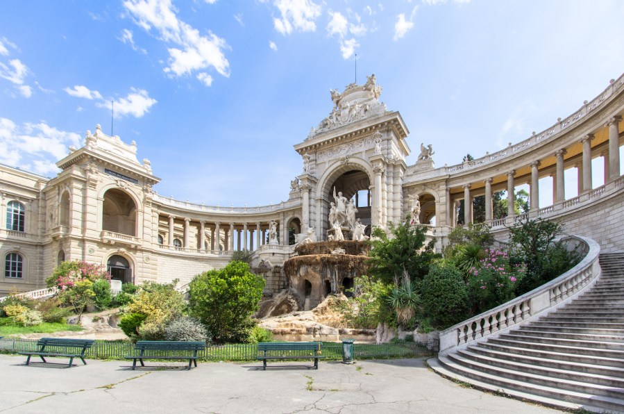 The Perfect 7-14 Day Provence and Côte d'Azur Itinerary; palais of Marseille