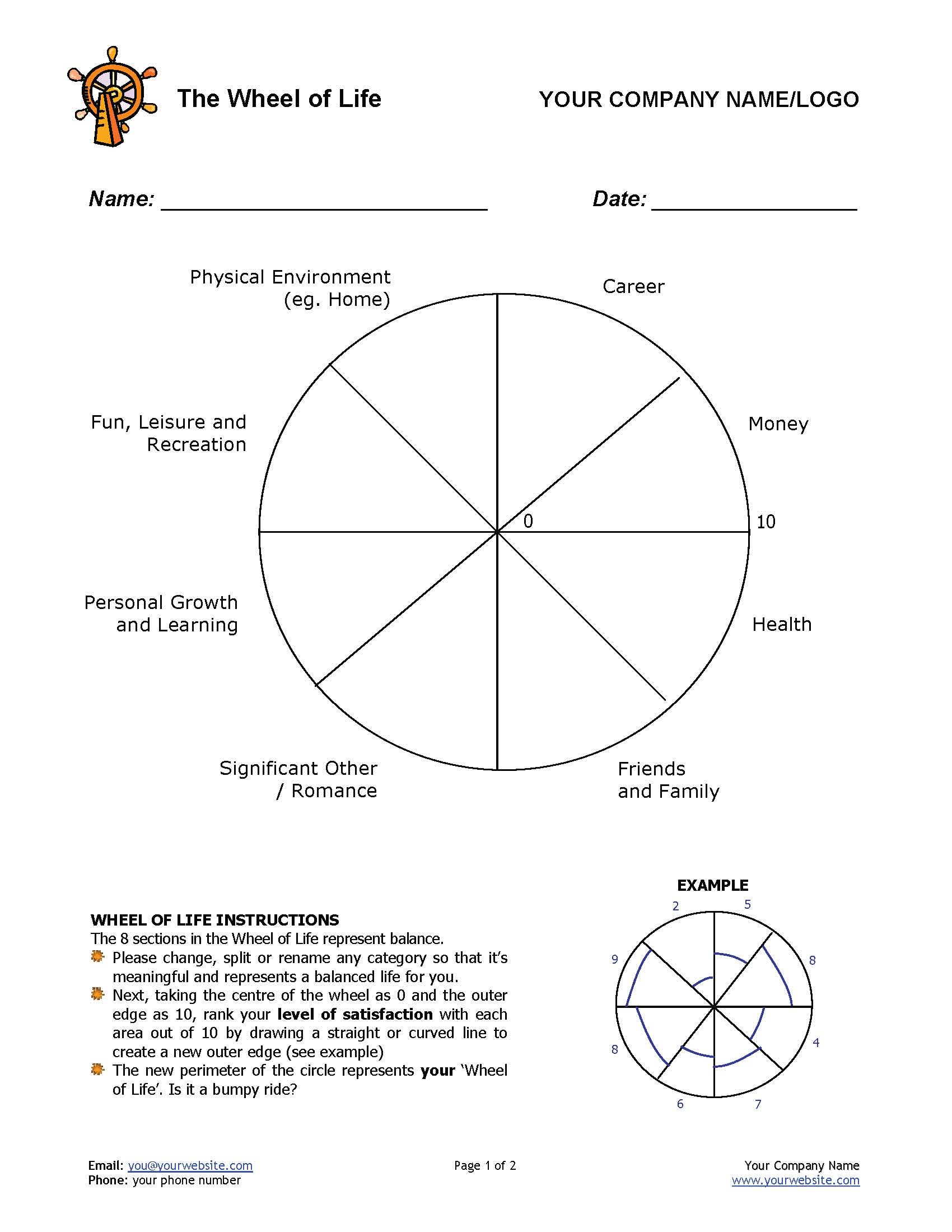 12 Awesome New Ways To Use The Wheel Of Life Tool In Your Coaching Practice