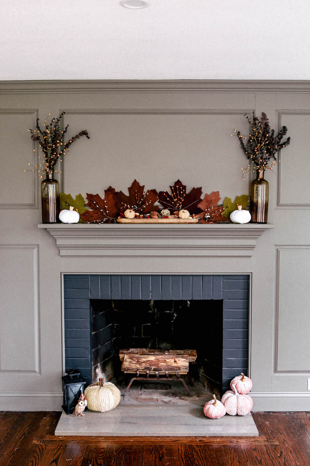 decorate your mantel for autumn