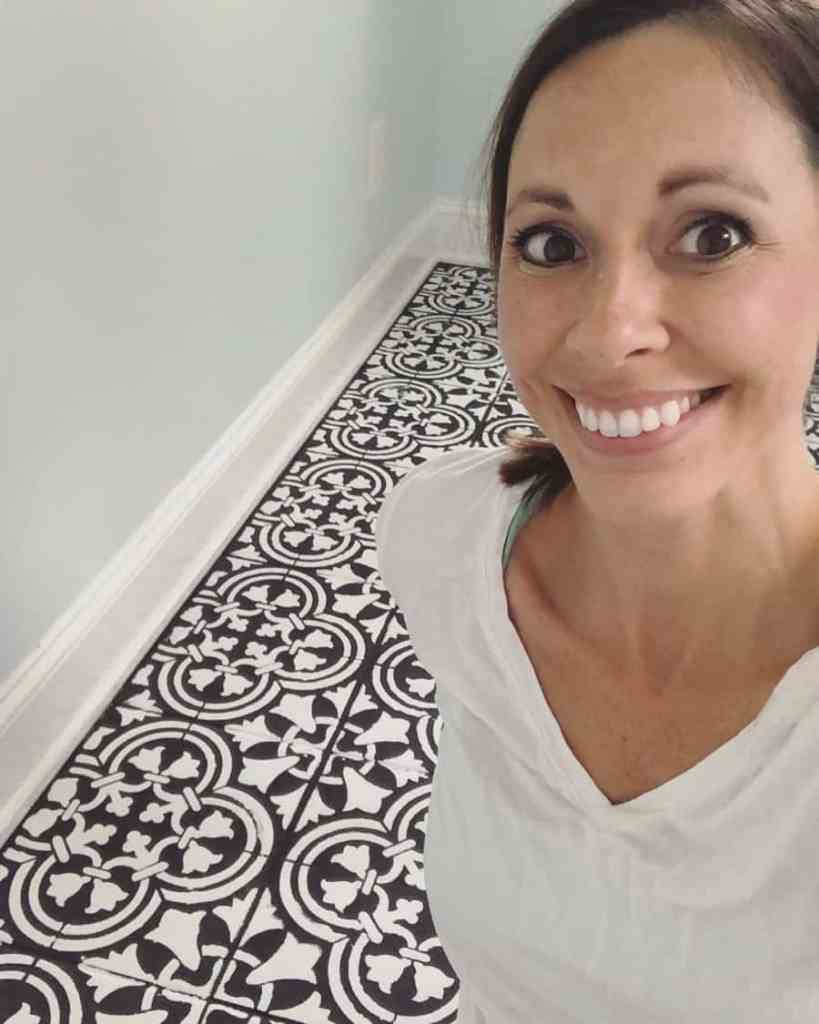 Touching Up Painted Floors