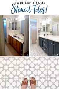 Stencil Floor Tiles