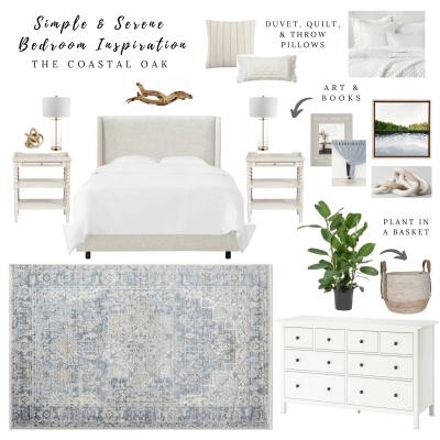 Simple & Serene Bedroom Inspiration