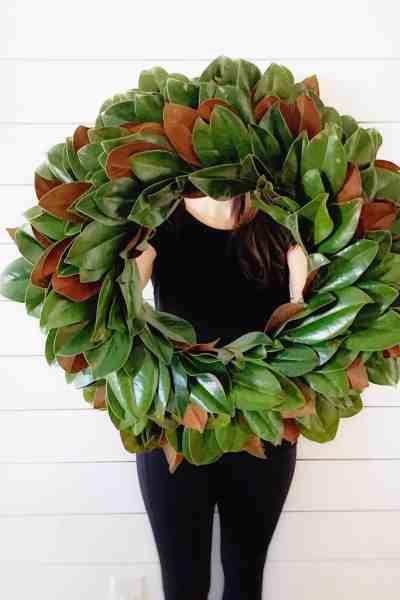 Magnolia Wreath Tutorial
