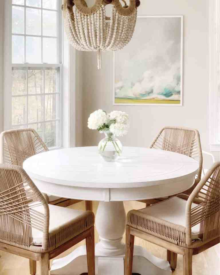 Reviewing Our Round Dining Table From Wayfair