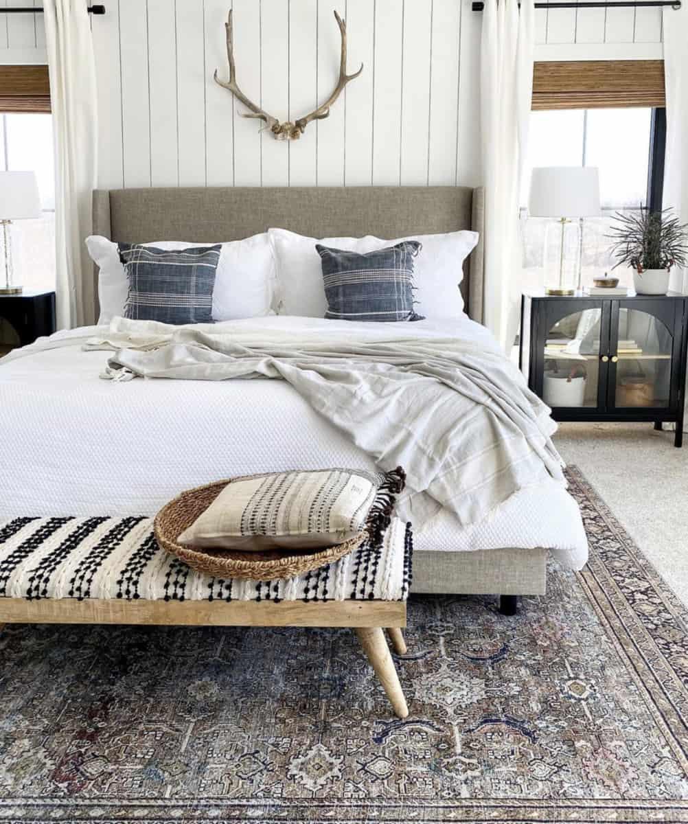 Joinery & Design Co. Vertical Shiplap Bedroom