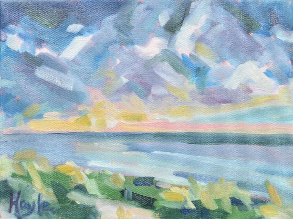 Sunset Walks by Rebecca Hoyle