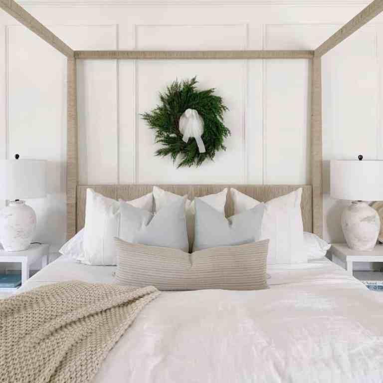 Master Bedroom Christmas 2020 Tour