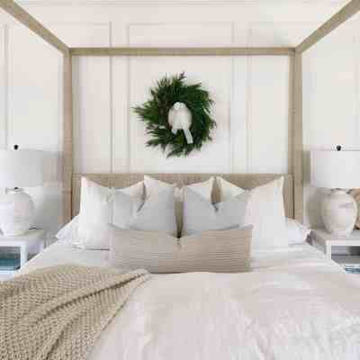 Master Bedroom Christmas 2020 Tour