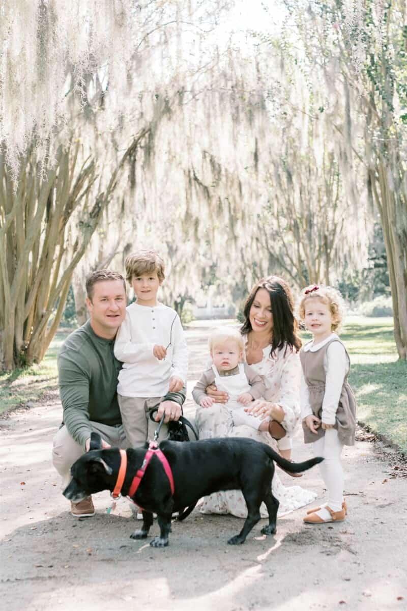 Family Photo Session with Caitlyn Motycka Photography at Hampton Park, Charleston SC