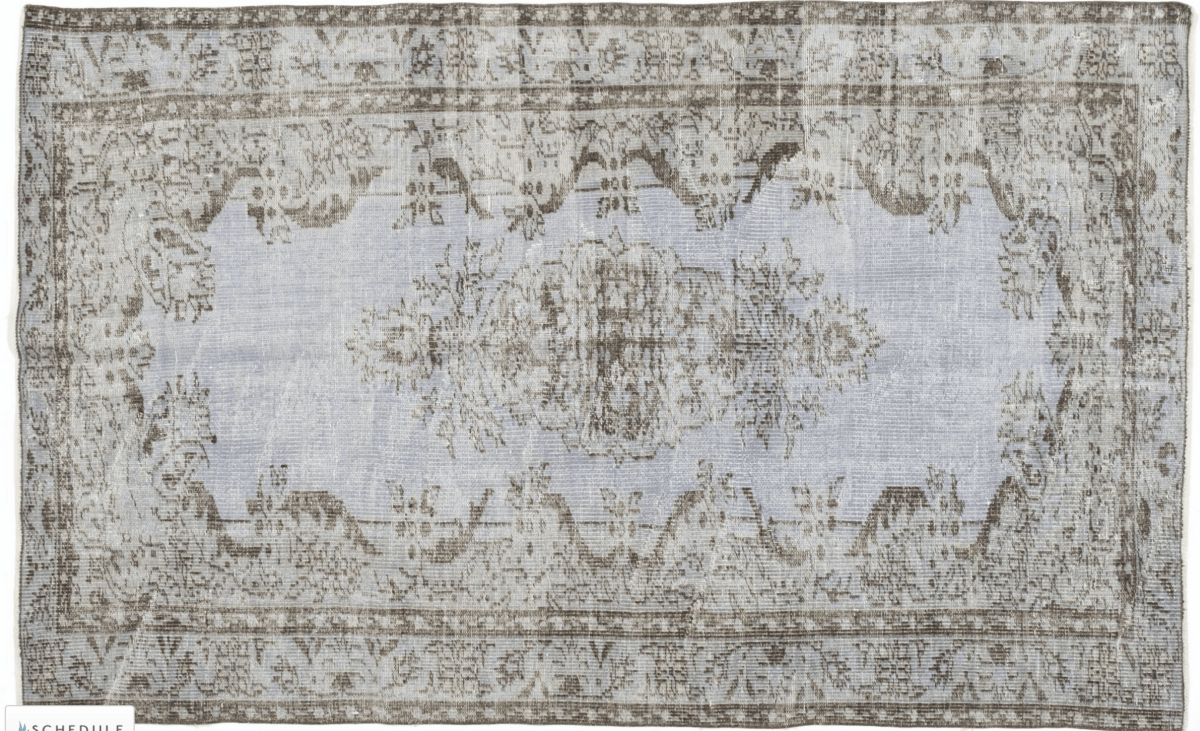 Hand-knotted vintage rug