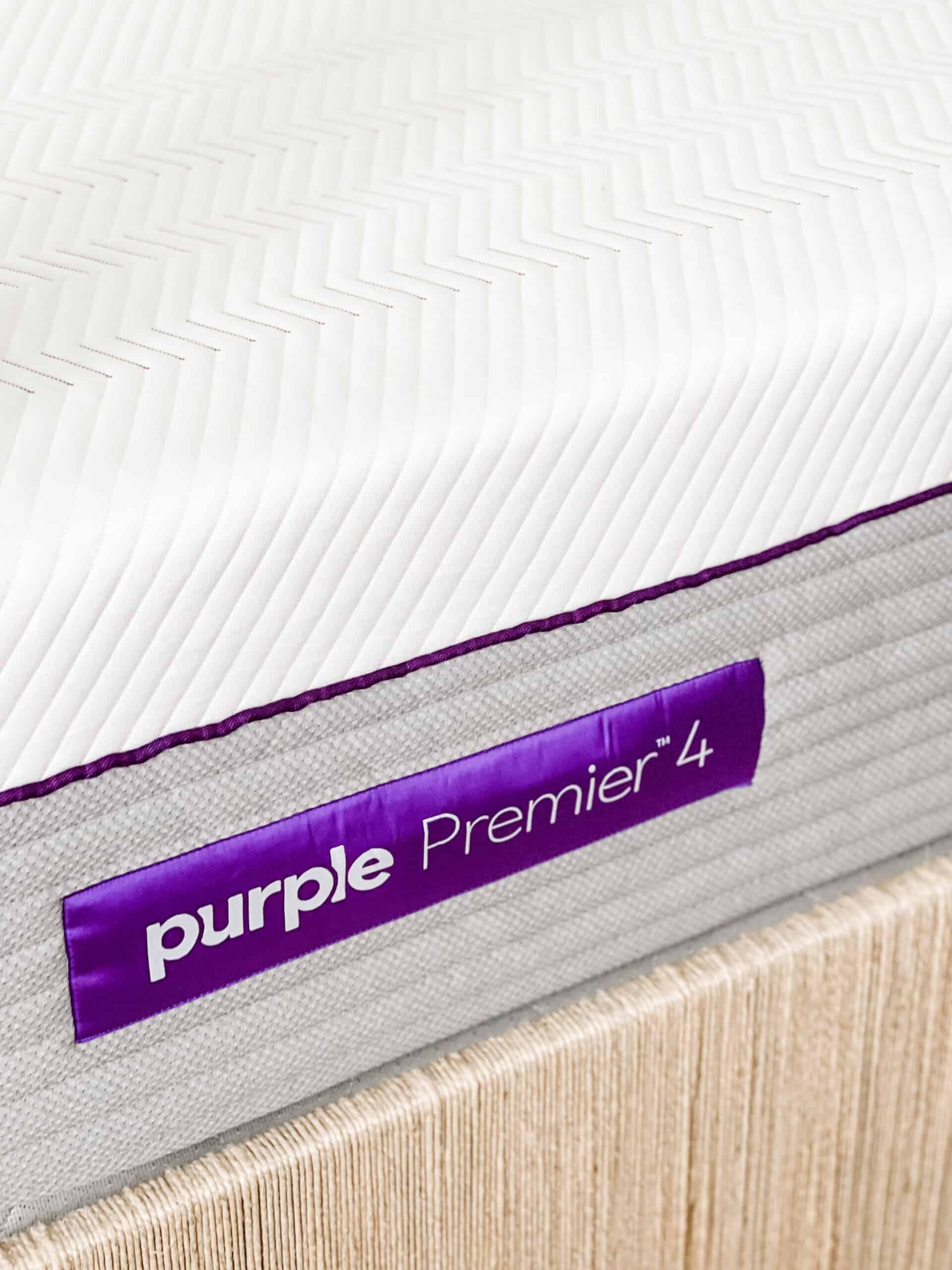 "Purple Premier 4"" mattress"
