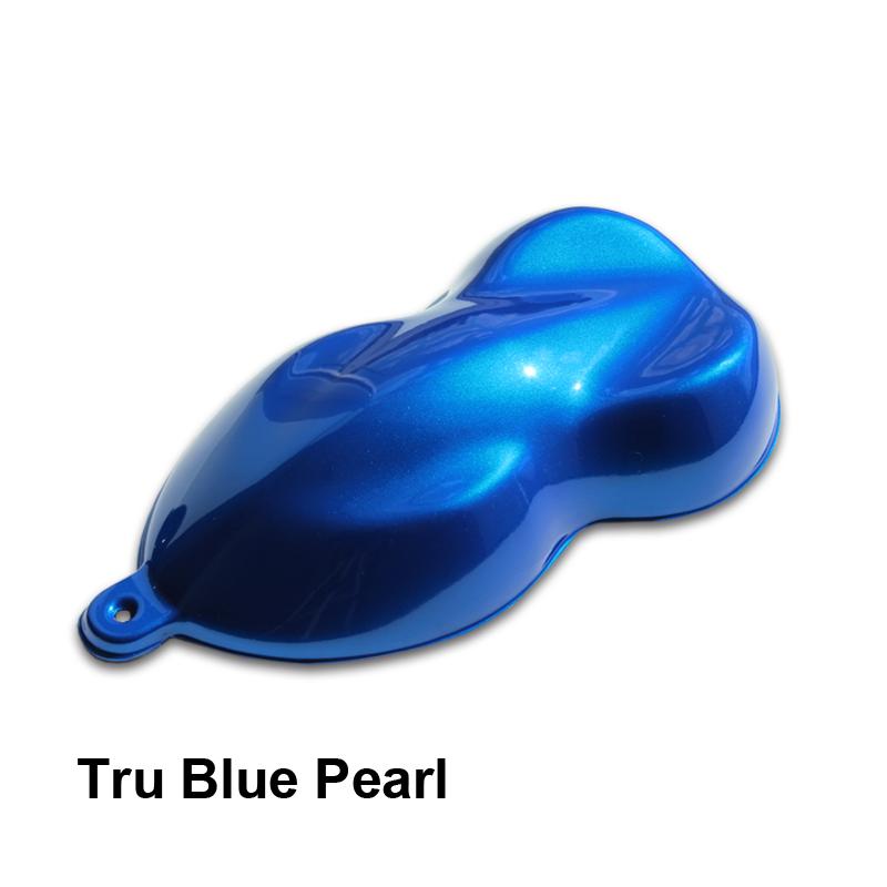 Car Blue Paint Candy Colors