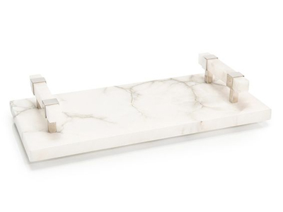 alabaster serving tray