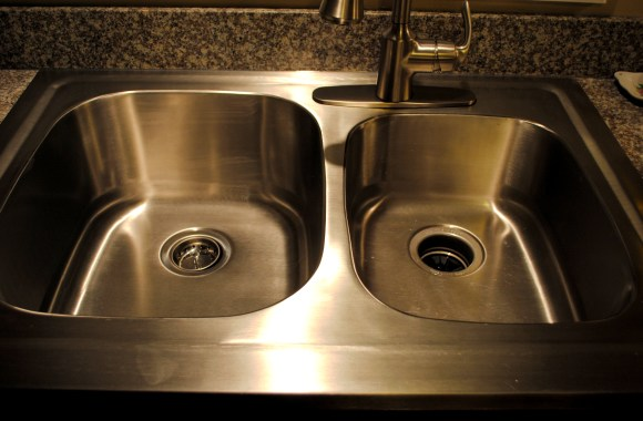 Make Your Stainless Sink Sparkle!