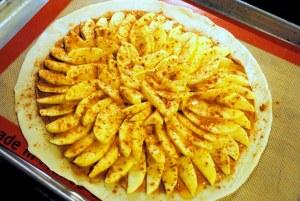 Peanut Butter Apple Tart