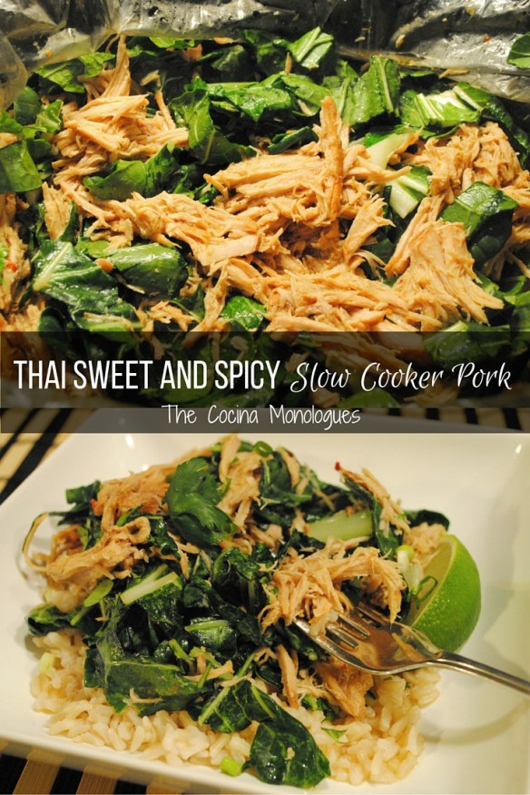 Thai Sweet and Spicy Slow Cooker Pork