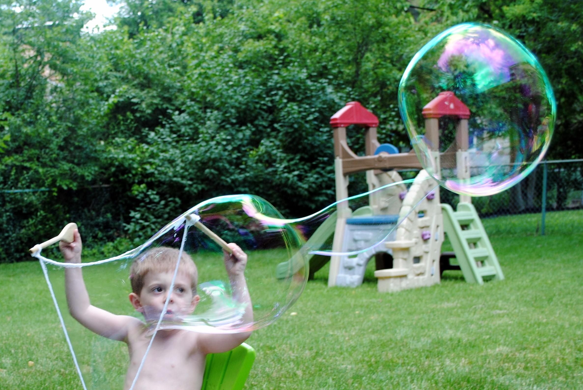 Giant Bubbles • The Cocina Monologues