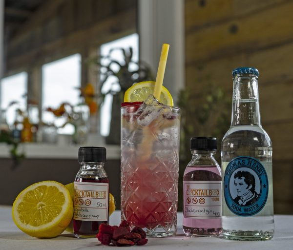 Raspberry collins - Flesjes, fruit en cocktail woocommerce