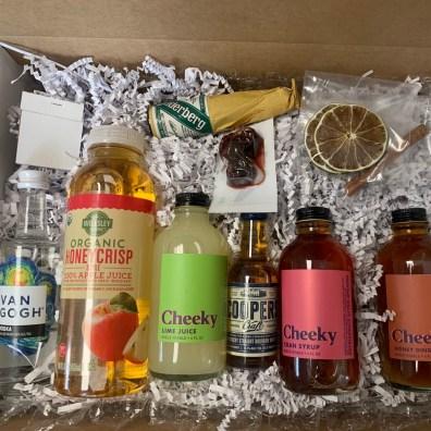 Our mini cocktail box kits