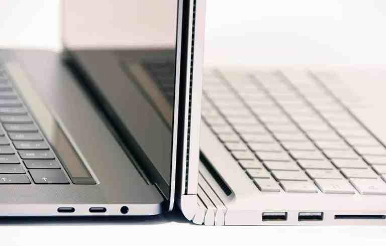 Surface Book 2 vs MacBook Pro