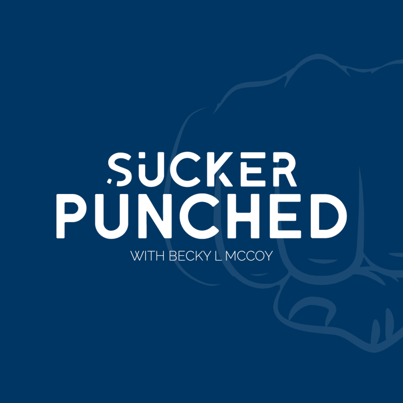 "Branding + Logo Design | ""Sucker Punched"" Podcast"