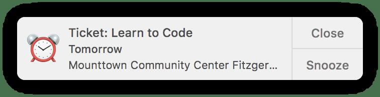 Learn to Code: Tomorrow