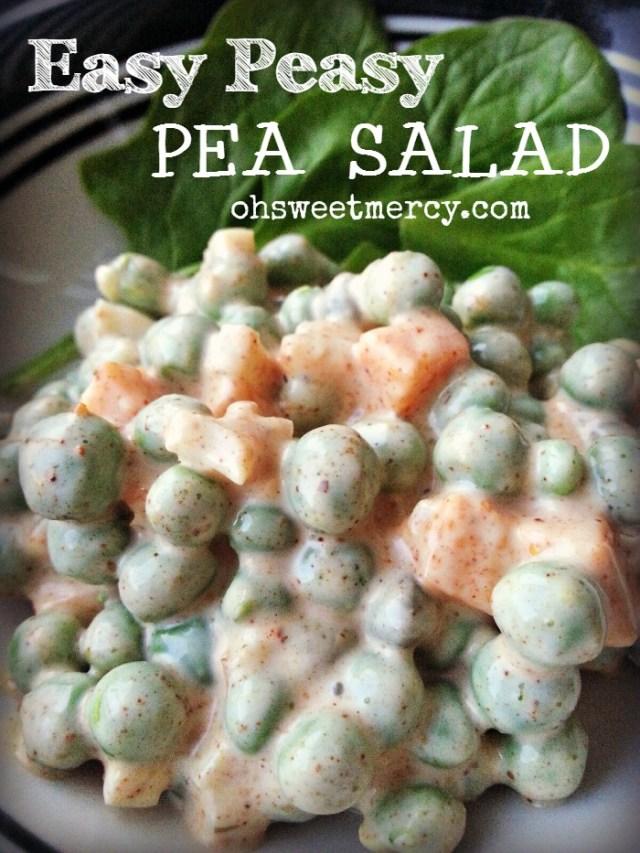 Easy-Peasy-Pea-Salad