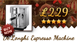 Buy the DeLonghi EC860 for only £229!