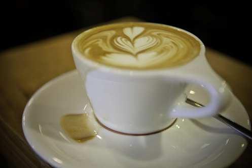 latte art - intelligentsia
