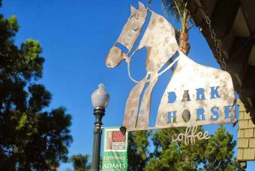 Dark Horse Coffee in San Diego