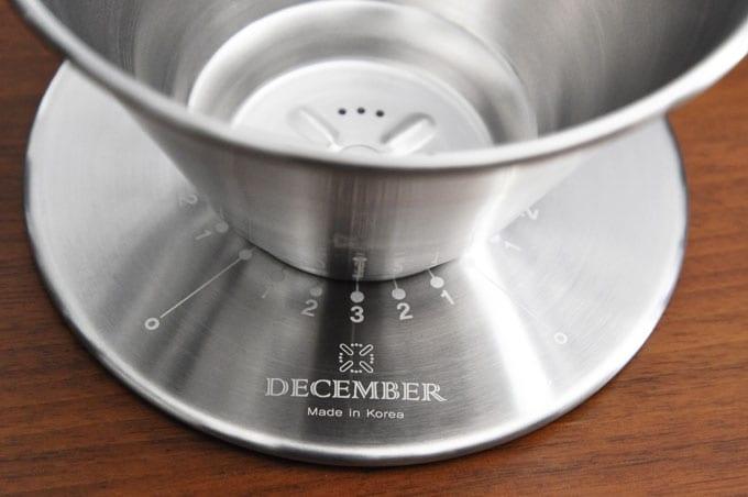 December Dripper