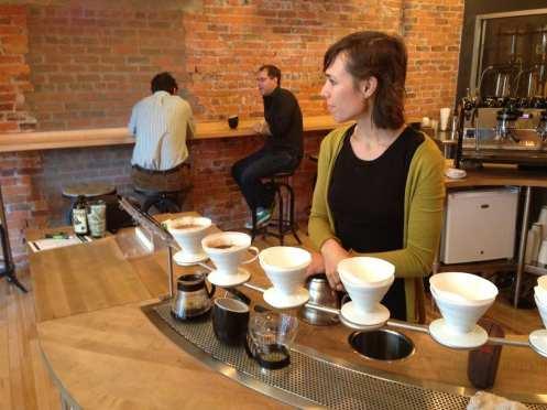 Coffee in Columbus v60