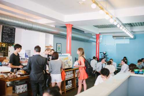 Prufrock Coffee interior