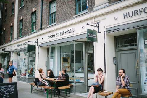 Store Street Espresso outside