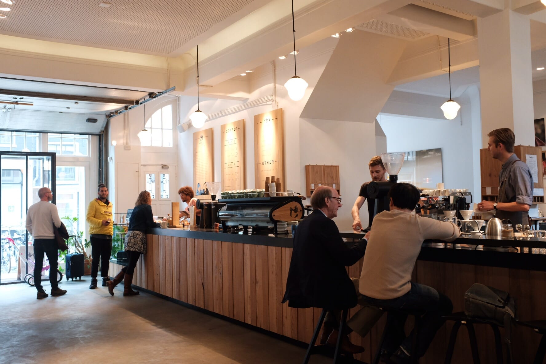 Coffee shop reviews the coffee compass for most of its history bocca has been focused on wholesale roasting but its amsterdam caf is something of a showroom for the company and is without a malvernweather Image collections