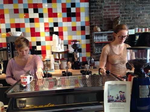 Baristas Everyman Espresso Soho NYC