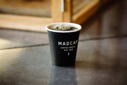 Madcap Coffee Grand Rapids logo cup