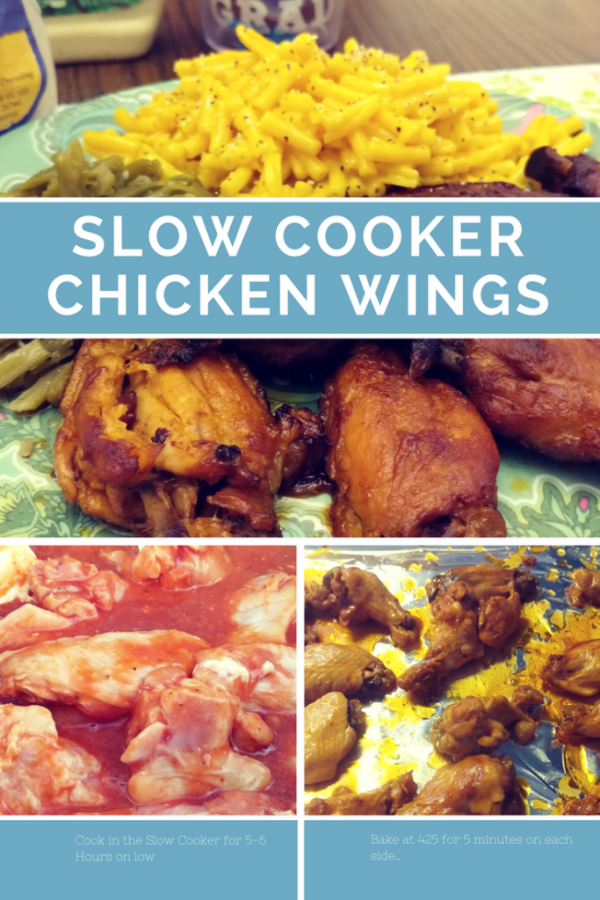 These Slow Cooker Chicken Wings are fall off the bone tender with just the right amount of crispiness to satisfy any pallet!